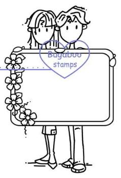 Digi stamps,Jack and Diane Couple,Bugaboo Stamps,