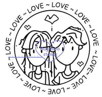 Digi Singles,Word art/ Sentiments,Jack and Diane  - love circle,Bugaboo Stamps,