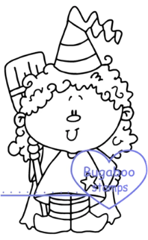 Digi stamps,Kidlet Witch,Bugaboo Stamps,