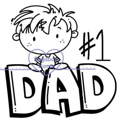 digi stamps,clip art, kidz dad boy,Bugaboo Stamps,