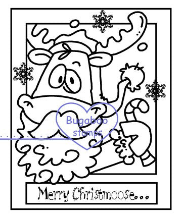 Digi Singles,Make it Snappy - Merry Christmoose 2,Bugaboo Stamps,