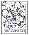 Digi Singles,Make it Snappy - Birthday ewe,Bugaboo Stamps,