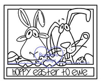 Digi Singles,Make it snappy - hoppy easter to ewe,Bugaboo Stamps,