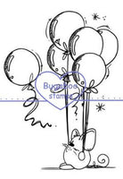 Digi Singles, Mouse - balloons,Bugaboo Stamps,