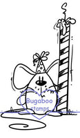 Digi Singles, Mouse - candle,Bugaboo Stamps,