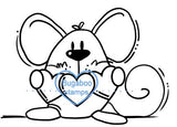 Digi Singles,mouse hearts,Bugaboo Stamps,