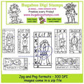 Digi Sets,Digi Singles,Mini Set  -  Christmas blocks,Bugaboo Stamps,