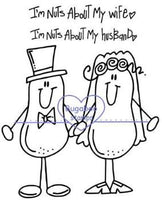 Digi stamps,Nuts about couple,Bugaboo Stamps,