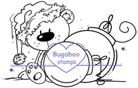 Digi Singles,Ornaments Bear,Bugaboo Stamps,