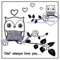 Digi stamps,Owl always love you,Bugaboo Stamps,