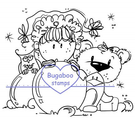 Digi Singles,Peeker - winter friends,Bugaboo Stamps,
