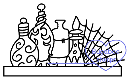 Digi Singles,Magical Tidbit - potions,Bugaboo Stamps,