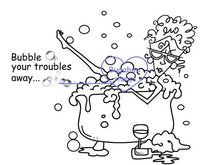 Digi stamps,Ruby Bubble Trouble,Bugaboo Stamps,