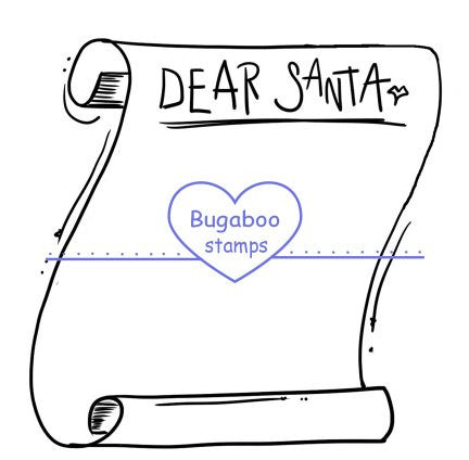 Word art/ Sentiments,Digi Singles,Blank Dear Santa Scroll,Bugaboo Stamps,
