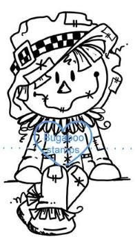 Digi stamps,scarecrow sitter,Bugaboo Stamps,