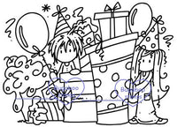Digi stamps, Scene it Ava Deacon Birthday,Bugaboo Stamps,