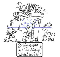 Digi Singles,Scene it - Christmas Mice,Bugaboo Stamps,