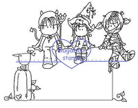 Digi Stamps,SI Halloween Brats,Bugaboo Stamps,