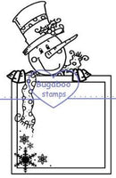 Digi stamps,Sign it snowman,Bugaboo Stamps,