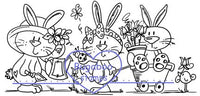 Digi Singles,spring bunnies,Bugaboo Stamps,