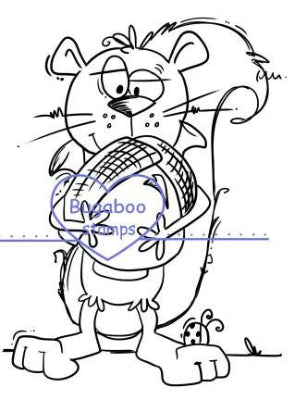 Digi stamps,Squirrel,Bugaboo Stamps,