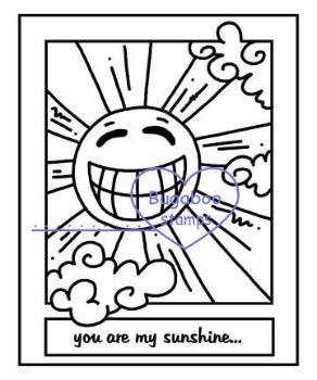 Digi Singles,Make it Snappy - you are my sunshine,Bugaboo Stamps,