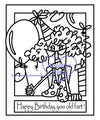 Digi Singles,Make it Snappy -Stella Birthday old fart,Bugaboo Stamps,