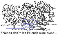 Digi Singles,Stella Friends -Wine Alone,Bugaboo Stamps,