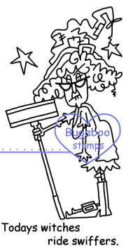 Digi stamps,Stella Witch Swiffer,Bugaboo Stamps,