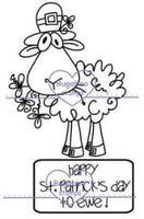 Digi stamps,Happy St Patricks day to ewe,Bugaboo Stamps,