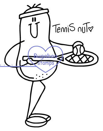 Digi Singles,Nuts About Sports - tennis,Bugaboo Stamps,