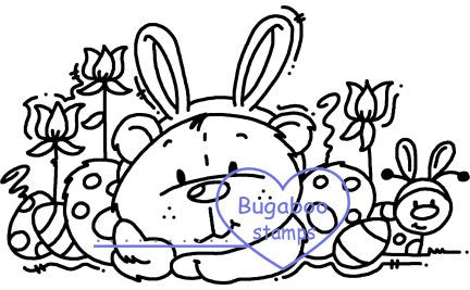 Digi Singles,Theodore - easter,Bugaboo Stamps,