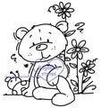 Digi Singles,Theodore - flowers,Bugaboo Stamps,