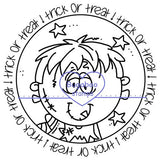 Halloween Tags Digi stamps, Images, clip art, coloring pages and illustrations from Bugaboo Stamps