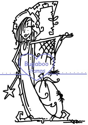 Digi stamps,Girlz witchy,Bugaboo Stamps,