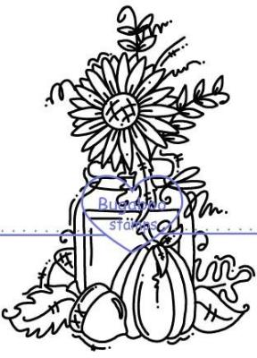Digi stamps,Autumn Jar,Bugaboo Stamps,