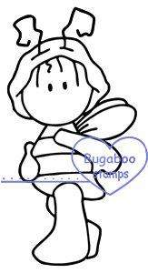 Digi Stamps,wee one bee,bugaboo stamps