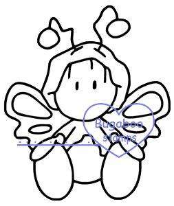 Digi stamps,wee one butterfly,bugaboostamps