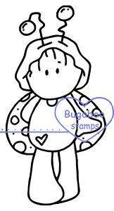 Digi stamps,wee one ladybug,bugaboo stamps