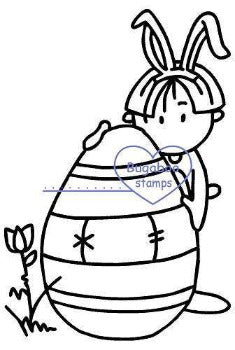 digi stamps,Wee One Easter Egg,Bugaboo Stamps,