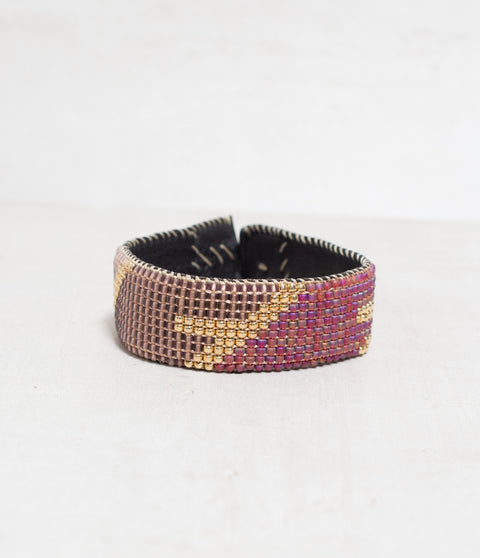 Aero Brown Loomed Cuff