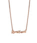 Love Heals Necklace Rose Gold