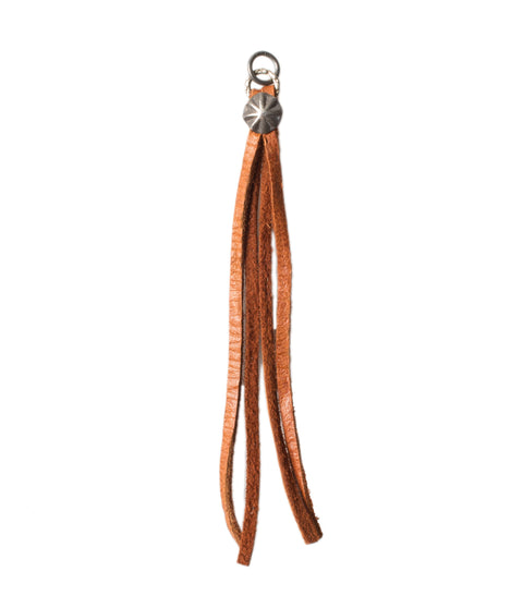 Tan Leather Tassel