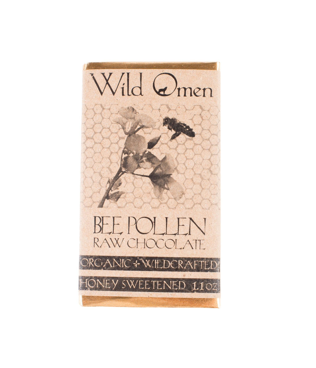 Wild Omen Bee Pollen Raw Chocolate
