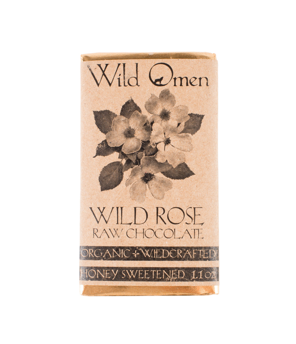 Wild Omen Wild Rose Raw Chocolate