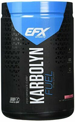 EFX Sports Karbolyn Fuel | Pre, Intra, Post Workout Carbohydrate Supplement Powder | Carb Load, Energize, Improve & Recover Faster | Easy To Mix | Kiwi Strawberry (2 LB 3.3 OZ)