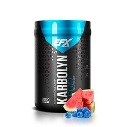 EFX Sports Karbolyn Fuel | Pre, Intra, Post Workout Carbohydrate Supplement Powder | Carb Load, Energize, Improve & Recover Faster | Easy to Mix | Blue Razz Watermelon (2LB 3.3 OZ)