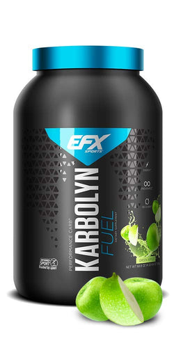 EFX Sports Karbolyn Fuel | Pre, Intra, Post Workout Carbohydrate Supplement Powder | Carb Load, Energize, Improve & Recover Faster | Easy to Mix | Green Apple (4 LB 4.8 OZ)