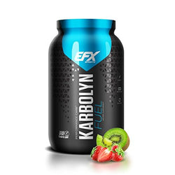 EFX Sports Karbolyn Fuel | Pre, Intra, Post Workout Carbohydrate Supplement Powder | Carb Load, Energize, Improve & Recover Faster | Easy to Mix | Kiwi Strawberry (4 LB 4.8 OZ)
