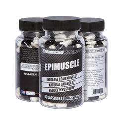 Enhanced Athlete Epimuscle - Natural Anabolic, Increase Lean Mass, Reduce Myostatin, 500mg Pure Epicatechin